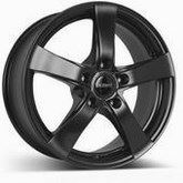 DEZENT RE dark Black matt 7,5x17, 5x120, ET35,Furat 72,6 alufelni BMW